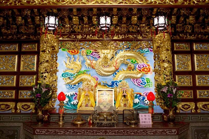 聚落宮廟全台首座玄聖父母殿